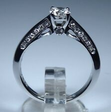IGI CERT FOREVER 18K White Gold 0.40ct Diamond Solitaire Engagement Ring £1999