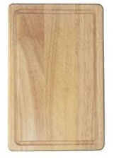 Apollo: Hevea Wooden Chopping Cutting Dicing Bread Board 30 x 20cm