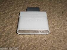 MICROSOFT XBOX 360 OFFICIAL 256MB MEMORY CARD ADDON Genuine 256 MB Storage Meg