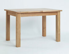 Sherwood - Oak Small Extending Dining Table / Light Oak Modern Kitchen Table