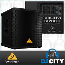 Behringer B1200D-Pro 12-inch 500W Active Powered Sub Subwoofer - Brand New - ...