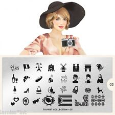 MoYou London TOURIST 3 Collection Stamping Schablone Paris Pudel