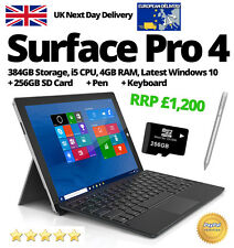 Microsoft Surface Pro 4 384GB, i5, 4GB, WITH KEYBOARD & PEN! Buy Now!