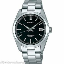 SEIKO SARB033 MECHANICAL Stainless steel Automatic Silver Black Men's Watch