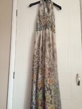 Stunning Halter Neck Warehouse Maxi Dress Size 8