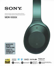 Sony MDR-1000X Wireless High Resolution Kopfhörer schwarz *NEU OVP*
