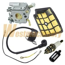 Carburetor Carb Air Filter Ignition Coil Fuel Filter For Stihl MS200T MS200 020T
