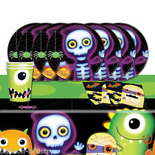 Boo Crew Monsters Halloween Children's Complete Birthday Party Table Pack For 8