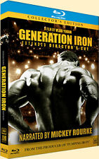 bodybuilding dvd GENERATION IRON BLU-RAY