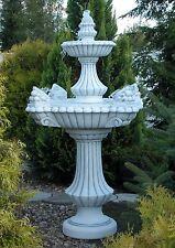 Springbrunnen Lissabon + Pumpe Steinbrunnen Brunnen Gartenbrunnen BLACKFORM