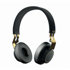 Jabra MOVE Bluetooth Wireless Stereo On Ear Headphones Black Gold