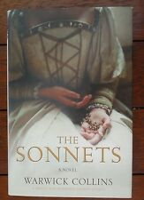 The Sonnets A Novel Warwick Collins Signed Limited edition Like New HBDJ 1st ed