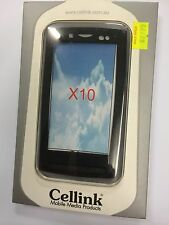 Sony Ericsson Xperia X10 Silicon Case in Black SCC658BK. Brand New in packaging.