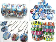 27pcs frozen girl's jewellery set rings necklaces bracelets badges party gifts