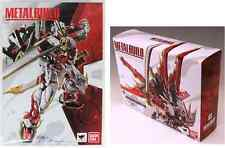 BANDAI METAL BUILD SERIES - RED FRAME & FLIGHT PACK COMBO