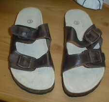 Ladies Brown Sandals. Size 3. New without Tags