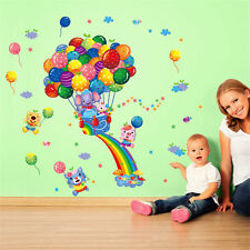 Balloon Rainbow Home Bedroom Decor Removable Wall Sticker Decal Decoration