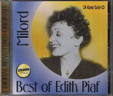 Piaf, Edith Milord ( Best of) Zounds Gold CD OOP