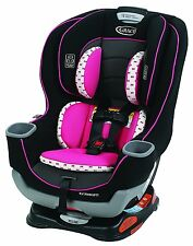 Graco Baby Extend2Fit Convertible Car Seat Infant Child Safety Kenzie NEW