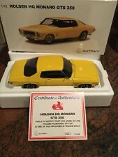 1:18 Biante Holden HQ GTS 350 Monaro Coupe in Yellow Dolly  Brand New Low Coa 27