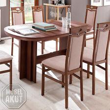 Esstisch Nancy Esszimmer Tisch ausziehbar in Walnuss 160-320x90 cm