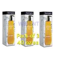 Pack of 3 Neutrogena Rainbath Refreshing Shower Bath Gel Original 40 oz Each