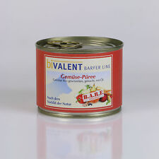 biVALENT BarferLine Gemüsepüree 12x 200g. BARF Ernährung Vorbild Natur I B-Ware