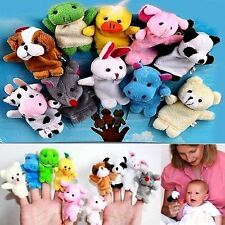 10Pcs Mixed Lovely Finger Animal Puppet Set