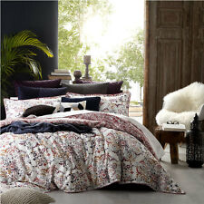 Logan and Mason SAHARA SPICE Paisley QUEEN Size Bed Doona Duvet Quilt Cover Set
