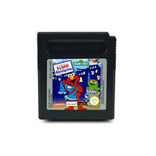 Gameboy Color Spiel SESAME STREET - SESAMSTRASSE ADVENTURE - ELMO IN GROUCHLAND