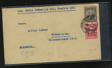 Bolivia  uprated postal envelope to Germany          AT0623