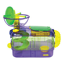 Mouse Cage - Kaytee Crittertrail Mouse House Cage - X-Treme Challenge Habitat