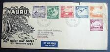 NAURU FDC 1954