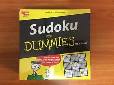 2005 Board Game - Sudoku for Dummies - Brand New & Sealed