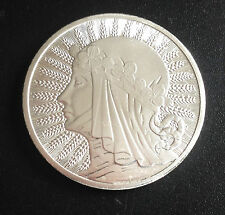 1 oz. Polish Round Bar. Pure Silver 9999