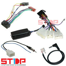 TOYOTA HILUX 2012+ STEERING WHEEL CONTROL HARNESS ISO PATCH LEAD ANTENNA ADAPTOR