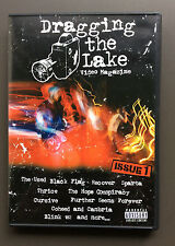 DRAGGING THE LAKE Video Magazine DVD Issue 1 VG+ Black Flag Blink 182 Thrice