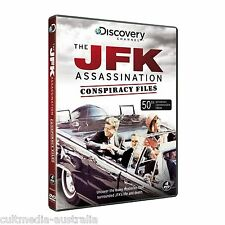 THE JFK ASSASSINATION CONSPIRACY FILES DOCUMENTARIES COLLECTION NEW 4 DVD BOX R4