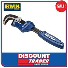 """Irwin Tools 11"""" 275mm Quick Adjusting Pipe Wrench 274001 - 274001SM"""