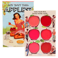 The Balm HOW BOUT THEM APPLES Lip and Cheek Palette 6 Shade New Full Sz TheBalm