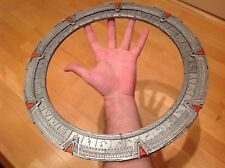 Stargate SG1 with moving inner ring. Painted. Assembled.