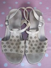 K By Clarks Ladies Natural Leather Sling Back Sandals Size (UK 7)