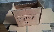 130x60x80 Karton Verpackung doppelwelle A5 100 Stück !!