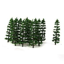 20x Fir Trees Model Layout Forest Train Diarama Landscape Decor HO OO Scale