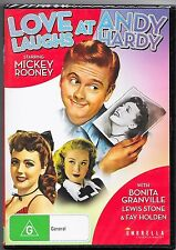 Love Laughs At Andy Hardy Dvd New(Mickey Rooney) Region Free Post