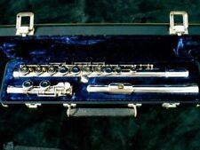 KEILWERTH JULIUS -REI- Vollsilberrohr Flöte flute solid flauta flauto Querflöte