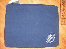 "BNWT ORIGINAL WEATHERBEETA PADDED DOG BED IN NAVY/SILVER SIZE SMALL 20"" X 16"""