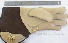 Suede Leather Falconry Glove Extra Large Double skinned