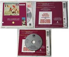 LOUIS ARMSTRONG What A Wonderful World ..  Rare 1988 3inch A&M CD