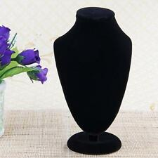 Velvet Necklace Display Stand Neck Bust for Pendant Jewelry 170*100mm HOT